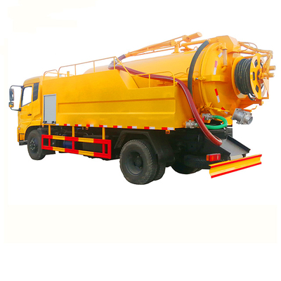 Combination Sewer Jetting and Suction Truck